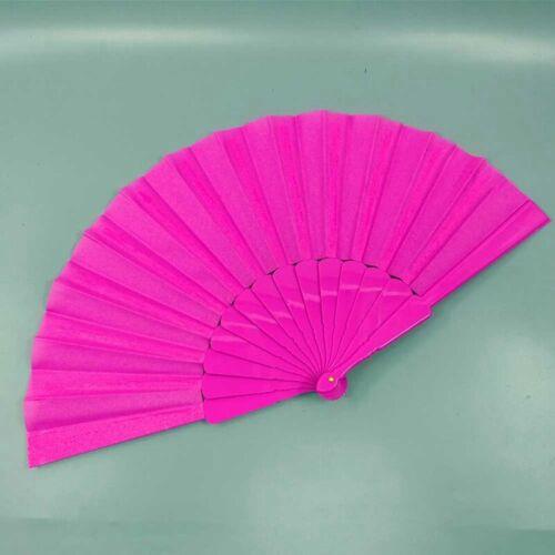 Chinese Style Hand Held Fan Plastics Folding Fan Party Wedding Decor #EV OHyJu