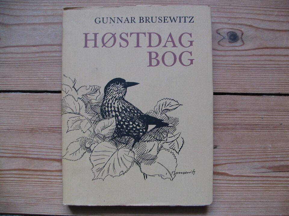 Høstdagbog - Blade fra naturens kalender, Gunnar