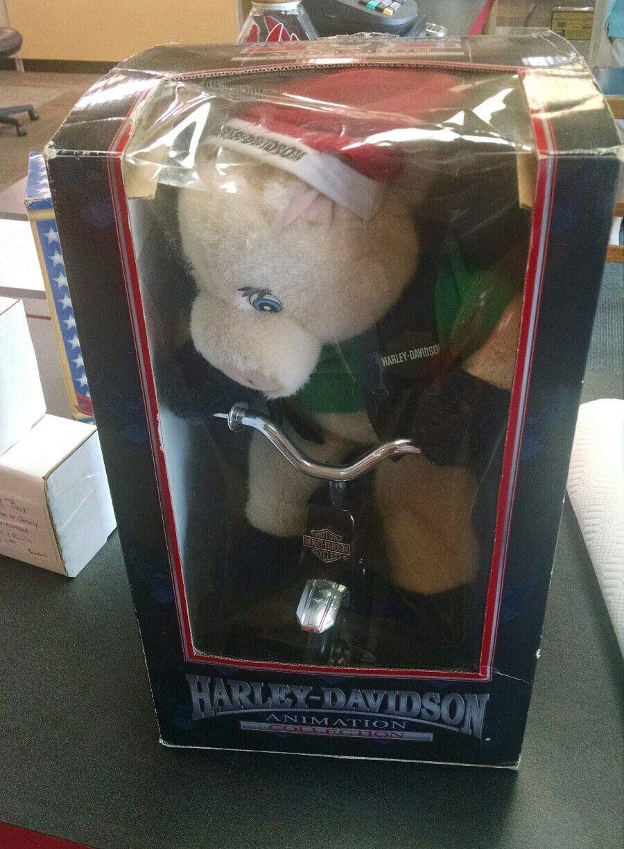HARLEY DAVIDSON Animation Christmas Hog Pig on Tricycle Bad to the Bone music