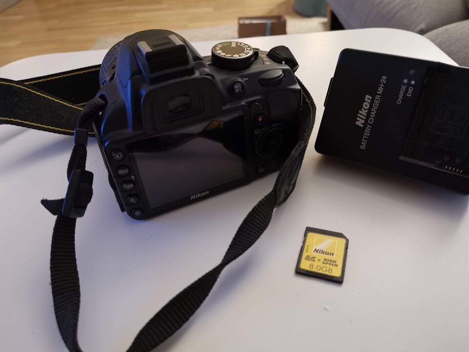 Nikon D3100, spejlrefleks, God