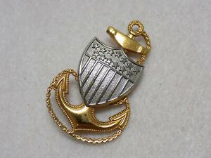 Vintage-WWII-Era-USCG-Coast-Guard-Chief-Cap-Insignia