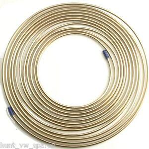 CUPRO-NICKEL-FUEL-BRAKE-PIPE-HOSE-LINE-25FT-FOOT-3-16-4-76MM-1-ROLL
