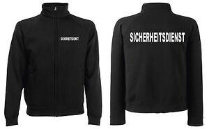 SECURITY-SICHERHEITSDIENST-Sweatjacke-Jacke-in-schwarz-oder-navy-SE8