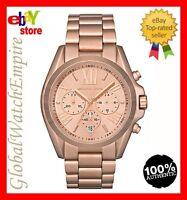New Michael Kors gold tone chronograp Womens watch - MK5503 - RRP 250$