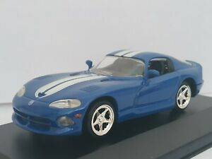 1-43-DODGE-VIPER-1996-COCHE-DE-METAL-A-ESCALA-CAR-SCALE-DIECAST