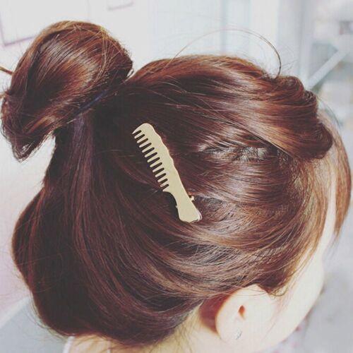 1pc Girl/'s Women Cute Hair Clip Hair Comb Shape Accesories Headpiece