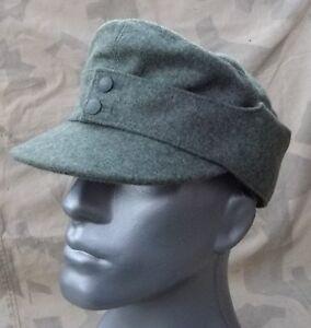WH Feldmütze M43 Mannschaft Wolle feldgrau Größe 56