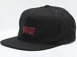 ebe89b4f52a Image is loading Vans-SKETCH-TAPE-Hat-NEW-Shallow-Unstructured-Strapback-