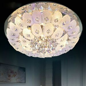 Details About Modern Phoenix Crystal Ceiling Fixture Lamps Chandelier Led Lighting Light