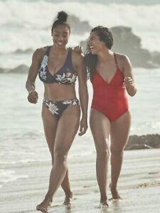 2a97ab830e9c1 Athleta Piha Reversible Wrap Bikini Top Bottom 2 pc NWT S Small | eBay