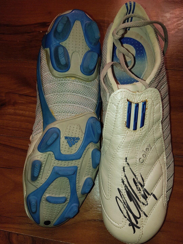 echte adidas unterschrift coley ausbilder mit der unterschrift adidas von ashley coole größe 6 c609fd