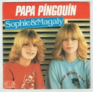 SOPHIE-amp-MAGALIE-Vinyle-45T-7-034-PAPA-PINGOUIN-TOUS-LES-ENFANTS-MONDE-JR-101546