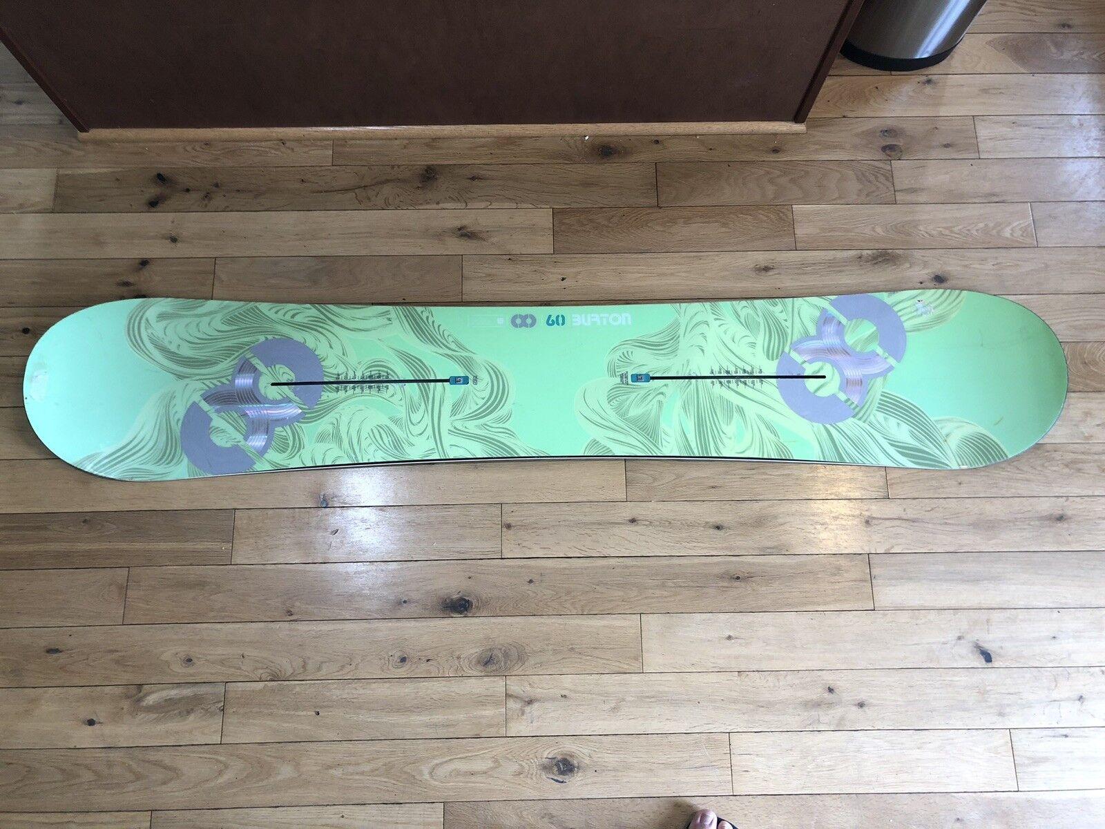 Burton X8 Channel Snowboard 160 Lime Green