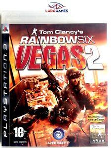 Tom-Clancy-039-s-Rainbow-Six-Vegas-2-PS3-PLAYSTATION-Neuf-Scelle-Scelle-Nouveau