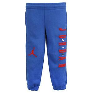 800a0f97c71f45 Nike Air Jordan Boys Sweat Pans Sz 4 Spellout Jumpman Blue Red Kids ...