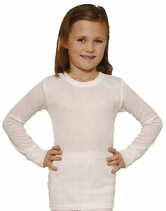 Octave 2 Pack Boys Thermal Underwear Long Sleeve T-Shirt//Vest//Top