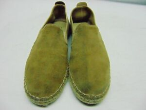 Free-People-Tan-Leather-Suede-Slip-On-Casual-Womens-38-7-5