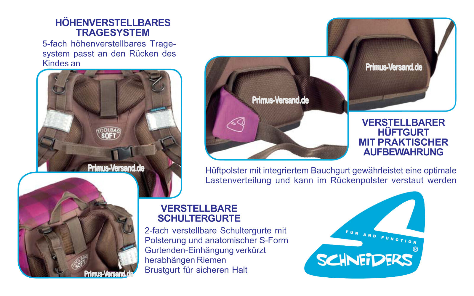 WILD DRAGON - Drachen - - - Schneiders Vienna TOOLBAG SOFT Schulranzen-Set 6-tlg. b079b9