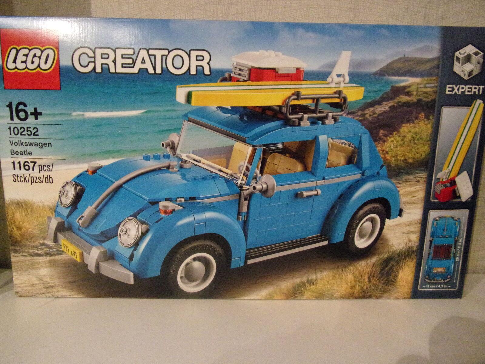 Lego Créateur 10252 VW Beetle - Neuf et Emballage  D'Origine  vente de sortie