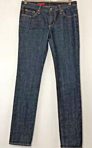 AG-Adriano-Goldschmied-Womens-Size-27R-Jeans-The-Stilt-Cigarette-Leg-Dark-Wash