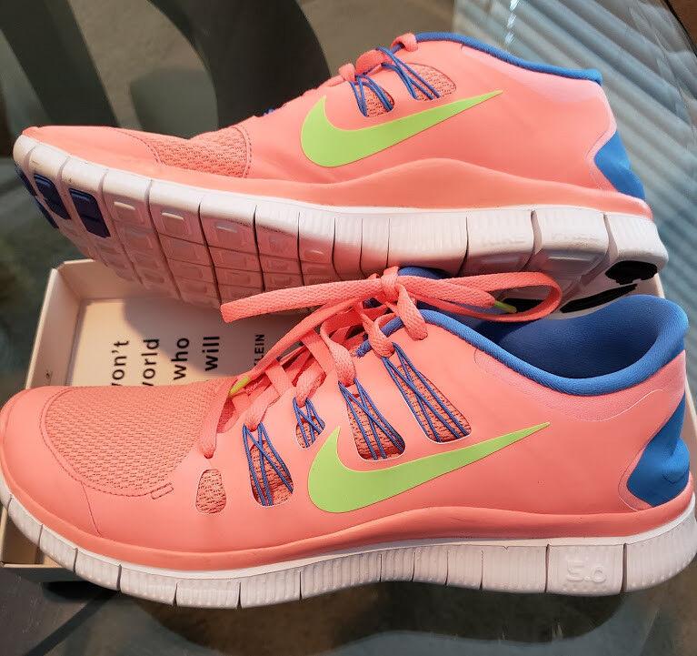 74490df5b38b NIKE Free 5.0 Women s Running shoes Size 11 B B B (M) - MINT bf6c4d ...
