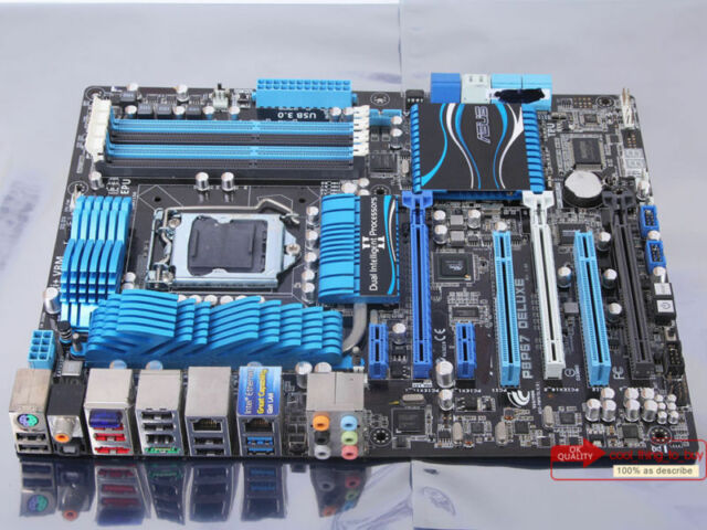 100% tested ASUS P8P67 DELUXE Motherboard LGA 1155 DDR3 Intel P67 Express