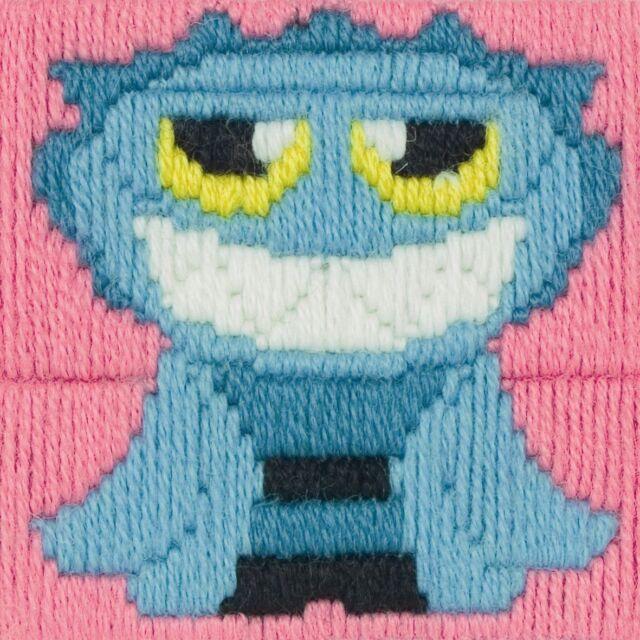 Children/'s Craft Anchor 1st Long Stitch Tapestry Kit Ideals Beginners Kids