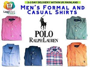 Nouveau-RALPH-LAUREN-Homme-Formel-et-Casual-Shirts-long-Manches