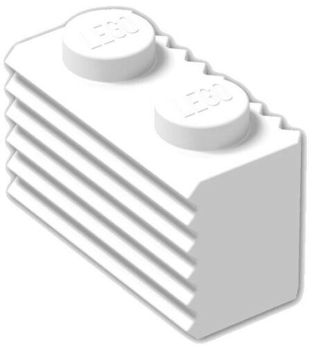 ☀️Lego x50 WHITE 1x2 Modified Grille Bricks Part Pieces Bulk Lot