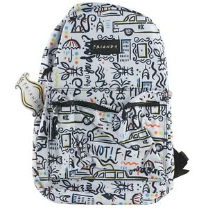 Friends-Central-Perk-Comic-Printed-90s-TV-Show-School-Backpack-Book-Bag