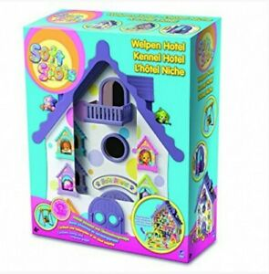Kids-Play-Pet-Dog-House-Kennel-Hotel-PLAYSET-PARCO-GIOCHI-cucciolo-regalo-di-Natale