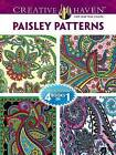 Creative Haven Paisley Patterns Coloring Book by Kelly Baker, Marty Noble (Paperback, 2013)
