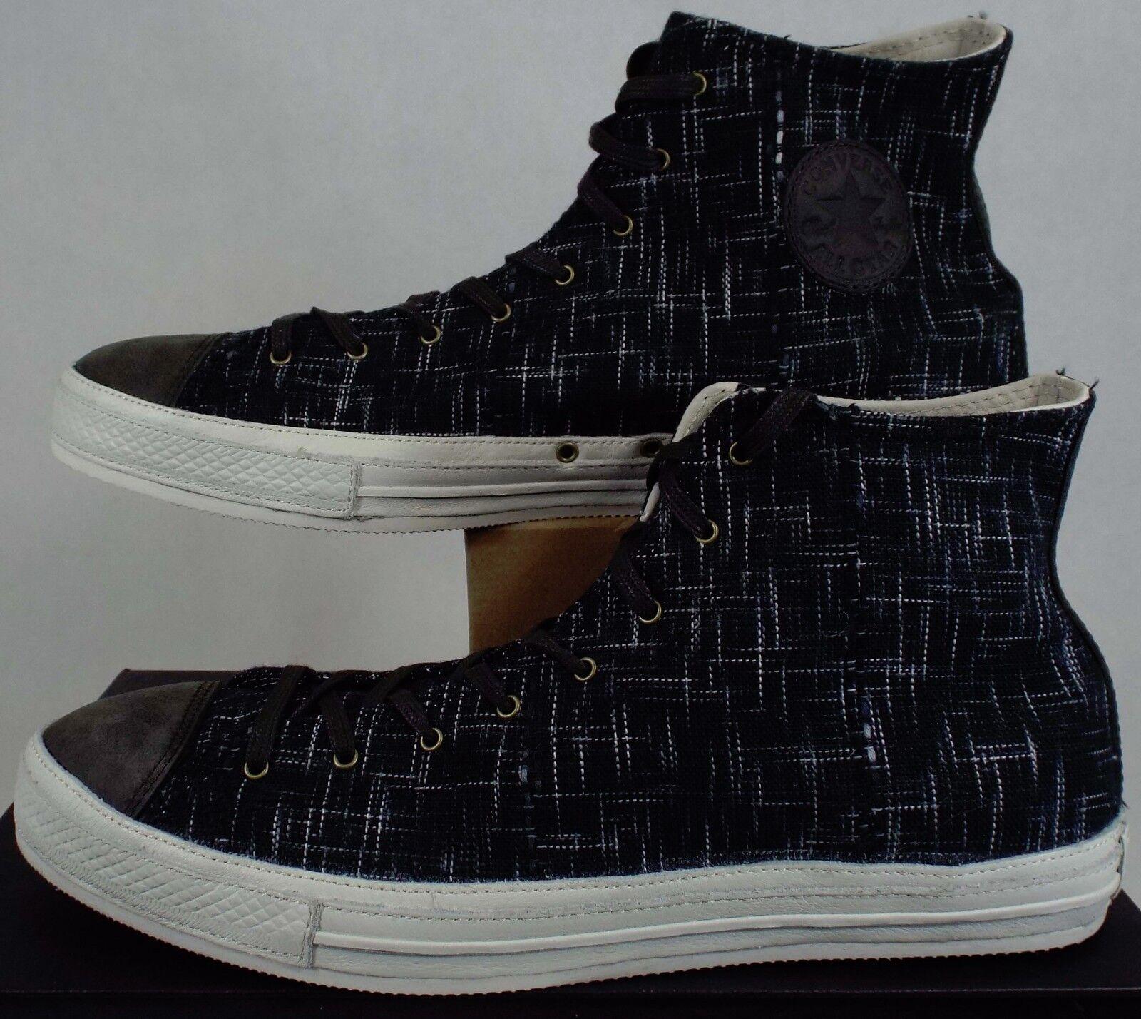 New COLLECTORS hommes 12 CONVERSE CT Post Hi Beluga noir VEGAN Chaussures 125 138485C