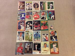 HALL-OF-FAME-Baseball-Card-Lot-1974-2020-LUIS-APARICIO-JOHNNY-BENCH-RALPH-KINER