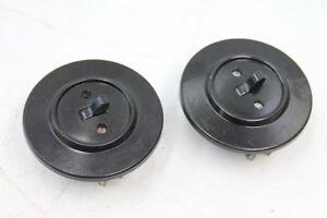 alter Schalter Bakelit Unterputz art deco Lichtschalter Kippschalter rund
