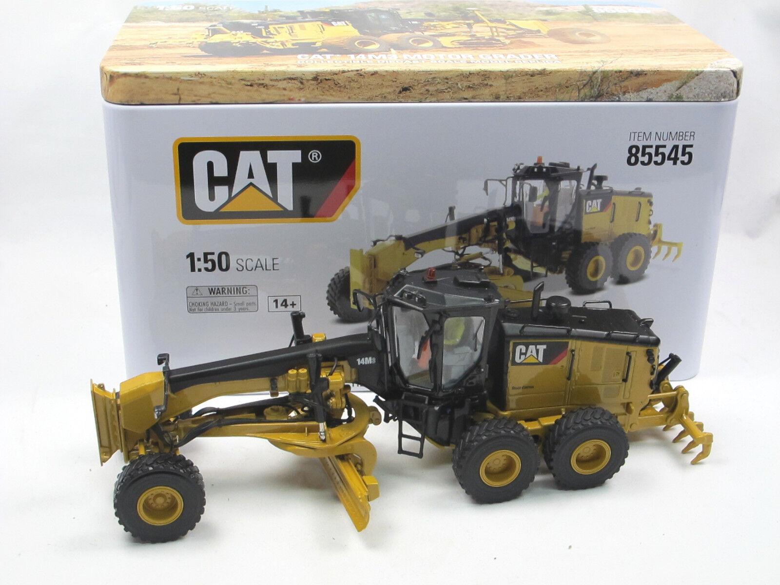 DIECAST masters 85545 Cat 14m3 motor apisonadores alisadoras motoniveladoras 1 50 nuevo embalaje original