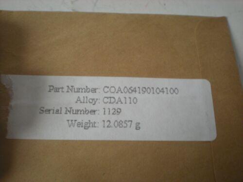 """NO NAME COA064190104100 1//8/"""" x 1//2/"""" x3/""""-LONG CDA1100 COPPER FLAT BAR NEW"""