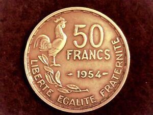 50-FRANCS-1954-Guiraud-JOLIE-PIECE-F-425-12-SUP