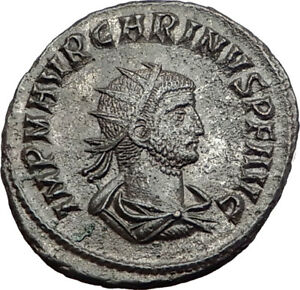 Carinus-Carus-son-Numerian-brother-283AD-Ancient-Roman-Coin-i64509