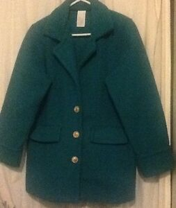 Ladies Fleece Car Coat/Size Small/Green | eBay