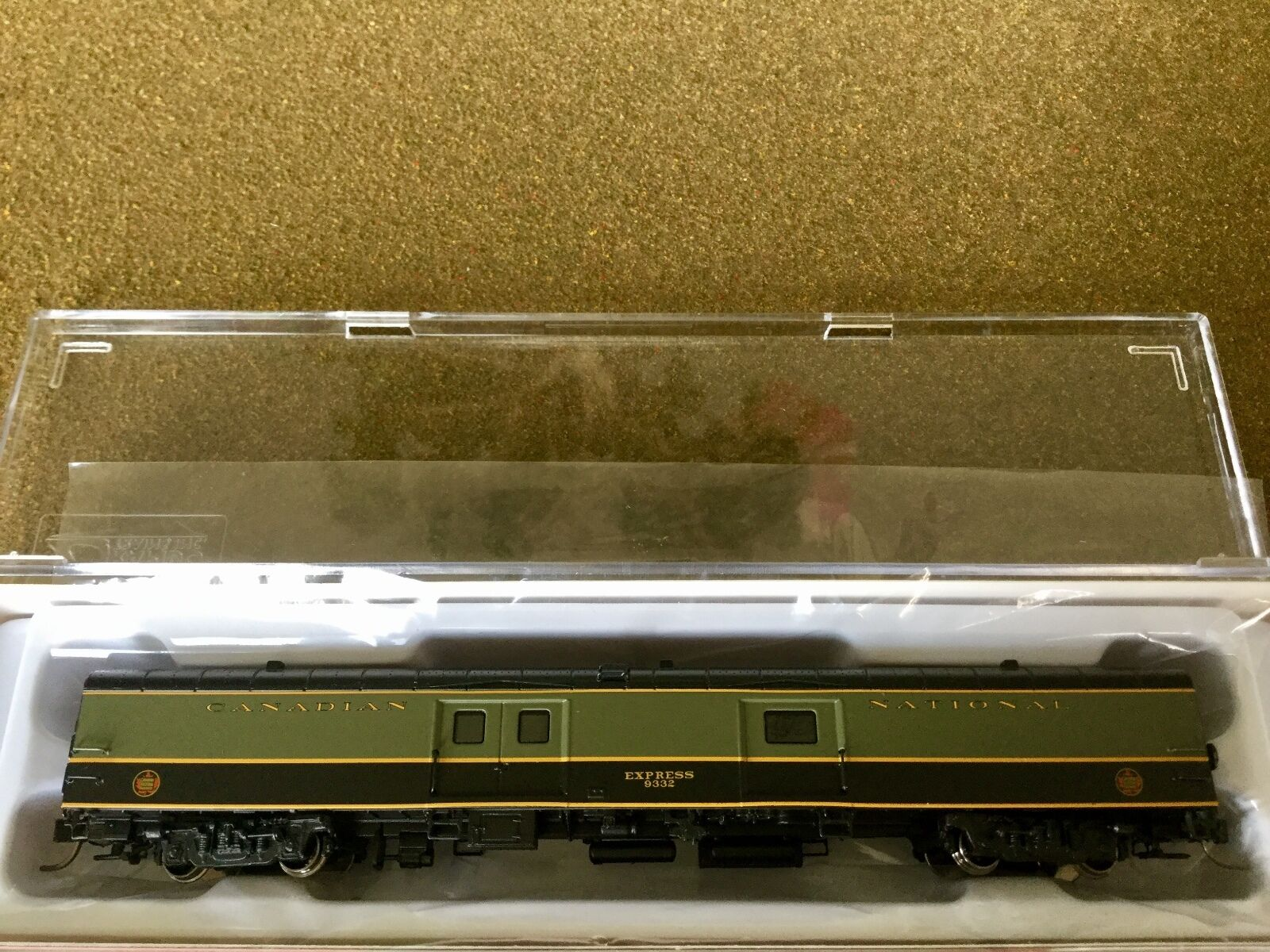 RAPIDO  1 160 N SCALE CANADIAN NATIONAL 73' 1954 EXPRESS BAGGAGE CAR  506514 F S