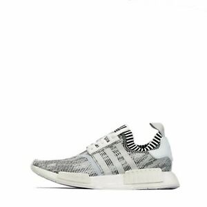 low priced 846e4 7f805 Details about adidas Originals NMD_R1 Prime Knit Men's trainers Shoes  White/Black
