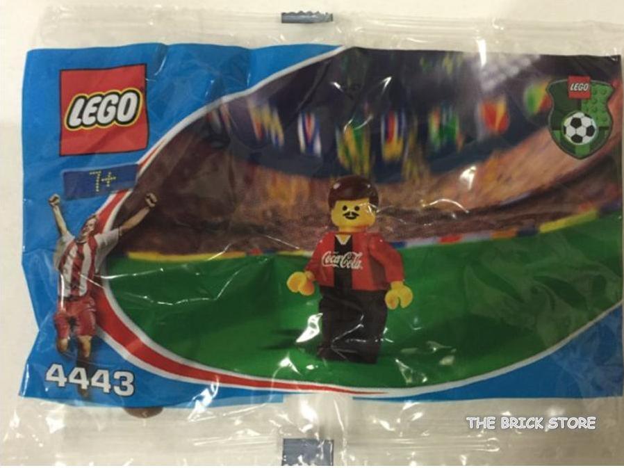 LEGO SOCCER - COCA COLA DEFENDER 1 POLYBAG FIGURE + GIFT - ULTRA RARE - SEALED