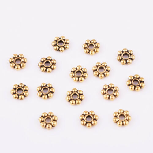 Lot Antiqued Gold Charms Loose Spacer Beads DIY Crafts Fashion Jewelry Making