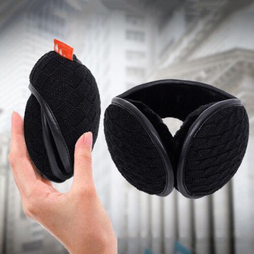 Unisex Folding Earmuff Lightweight Fall Warm Winter Plush Earmuff Ear Warmer