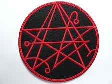 NECROMICON     EMBROIDERED  PATCH