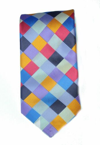 Lord R Colton Masterworks Tie Gray Black Uprising Silk Necktie $195 New