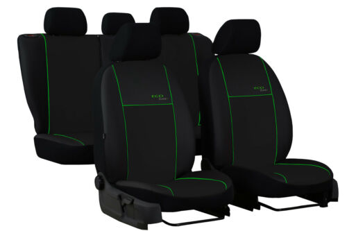 RENAULT CLIO Mk4 HATCHBACK 2012-2019 ARTIFICIAL LEATHER TAILORED SEAT COVERS