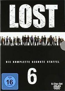Lost-Die-komplette-sechste-Staffel-5-DVDs-von-Jack-Be-DVD-Zustand-gut