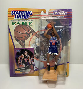 1998 Mike Bibby Arizona Wildcats Starting Lineup FAME Collection